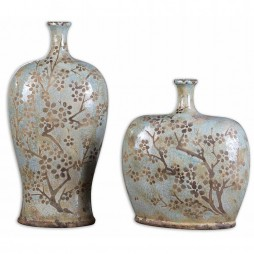 Citrita Decorative Ceramic Vases Set/2 19658