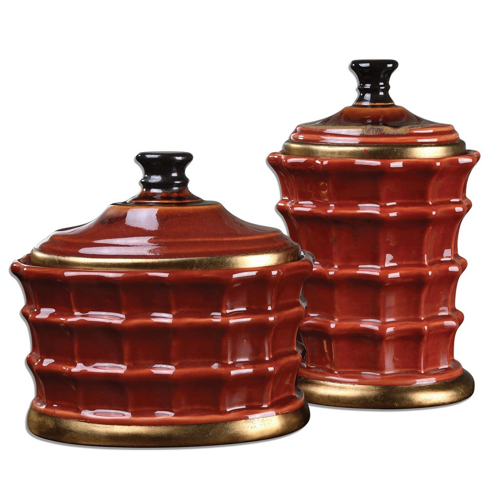 Home Accessories | Brianna Ceramic Canisters, S/2 | 19755