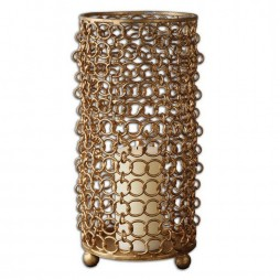Dipal Gold Candleholder 19806