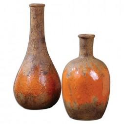 Kadam Ceramic Vases S/2 19825