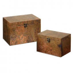 Ambrosia Copper Boxes S/2 19827