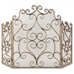 Kora Metal Fireplace Screen 20467
