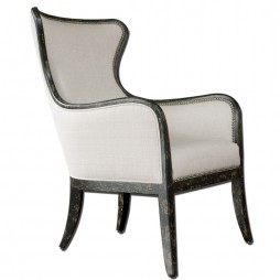 Uttermost Sandy Wing Back Armchair 23073