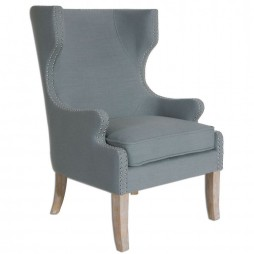 Graycie High Back Wing Chair 23136
