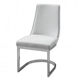 Xantina White Accent Chair 23141