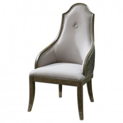 Sylvana Gray Accent Chair 23161