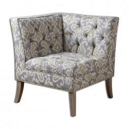 Meliso Tufted Corner Chair 23167