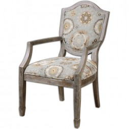 Valene Weathered Accent Chair 23174