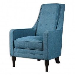 Katana Peacock Blue Armchair 23192