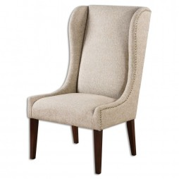 Kriston Wingback Armless Chair 23214