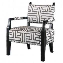 Terica Geometric Accent Chair 23217