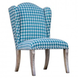 Winesett Blue Armless Chair 23618