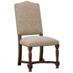 Pierson Textured Linen Accent Chair 23623