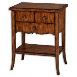 Carmel Wood End Table 24140