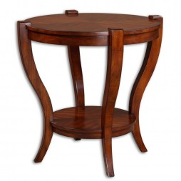 Bergman Round End Table 24142