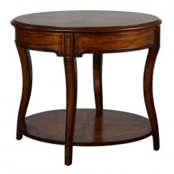 Corianne Round Lamp Table 24231