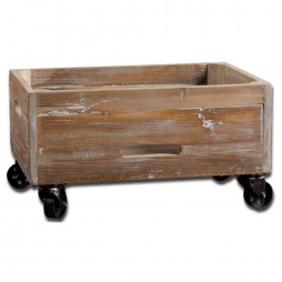 Stratford Reclaimed Wood Rolling Box 24247