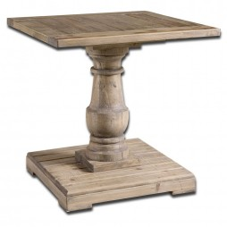 Stratford Pedestal End Table 24252