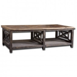 Spiro Reclaimed Wood Cocktail Table 24264