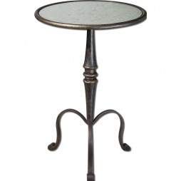 Anais Mirrored Accent Table 24274