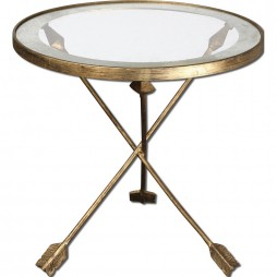 Aero Glass Top Accent Table 24275