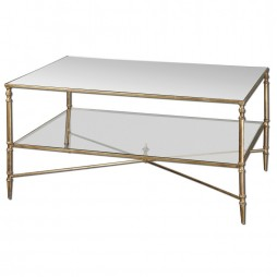 Henzler Mirrored Glass Coffee Table 24276