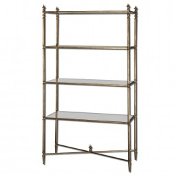 Uttermost Henzler Mirrored Glass Etagere 24277