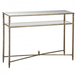 Henzler Mirrored Glass Console Table 24278