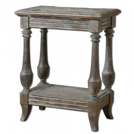 Mardonio Distressed Side Table 24295