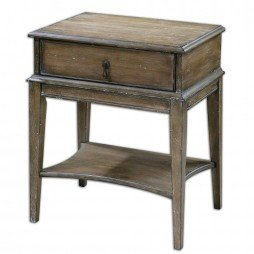 Hanford Weathered Accent Table 24312
