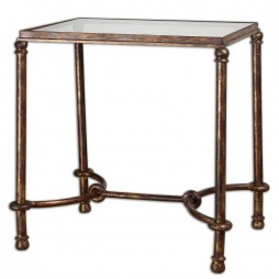 Warring Iron End Table 24334
