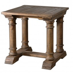 Saturia Wooden End Table 24341
