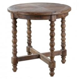 Samuelle Wooden End Table 24346