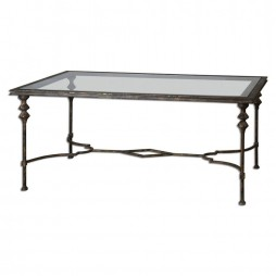Quillon Glass Coffee Table 24364
