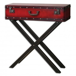 Taggart Red Console Table 24379