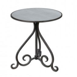 Poloa Mirrored Accent Table 24380