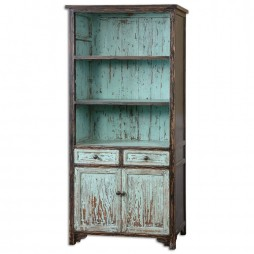 Dunixi Distressed Bookcase 24414