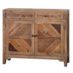 Hesperos Reclaimed Wood Console Cabinet 24415