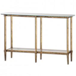 Elenio Glass Console Table 24421