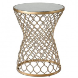 Naeva Gold End Table 24422