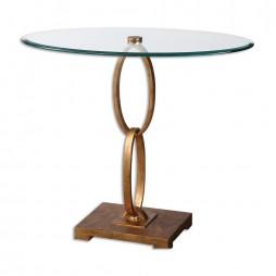 Cieran Oval Glass Accent Table 24436