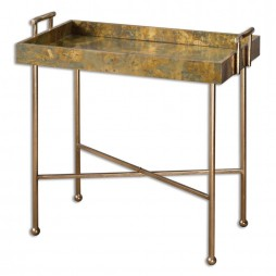 Couper Oxidized Tray Table 24448