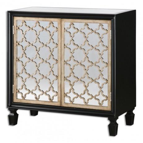 Franzea Mirrored Console Cabinet 24498