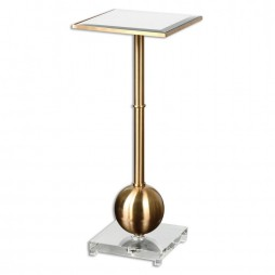 Laton Mirrored Accent Table 24502