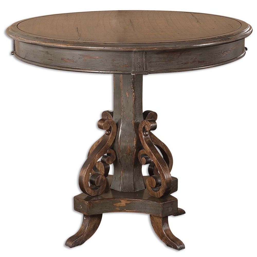 Accent Furniture Uttermost Anya Round Table