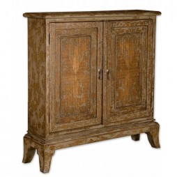 Maguire Distressed Console Cabinet 25526