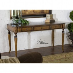 Colter Honey Stained Writing Desk 25574