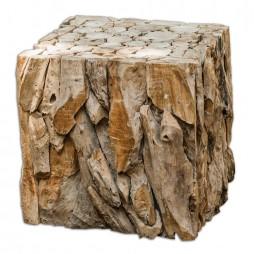 Teak Root Bunching Cube 25592