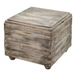 Avner Wooden Cube Table 25603