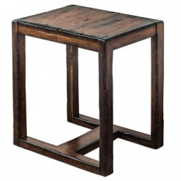 Deni Wooden End Table 25604